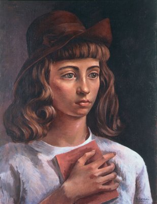 Antonio Berni. Girl figure