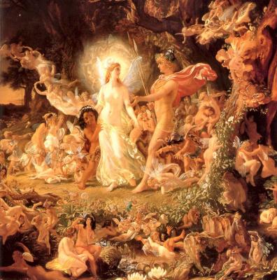 Ссора Оберона и Титании