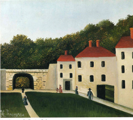 Henri Rousseau. Walking in the Park