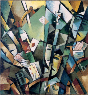 Иван Альбертович (Жан) Пуни. «Вист» 1915-16