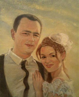 Daniil Litvinov. Свадебный портрет