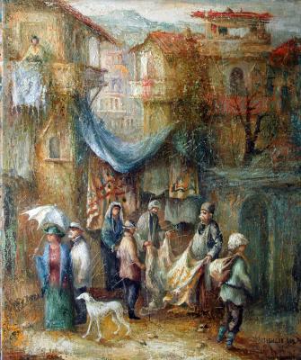 Автандил Невроевич Накашидзе (Кутубидзе). Yard 1