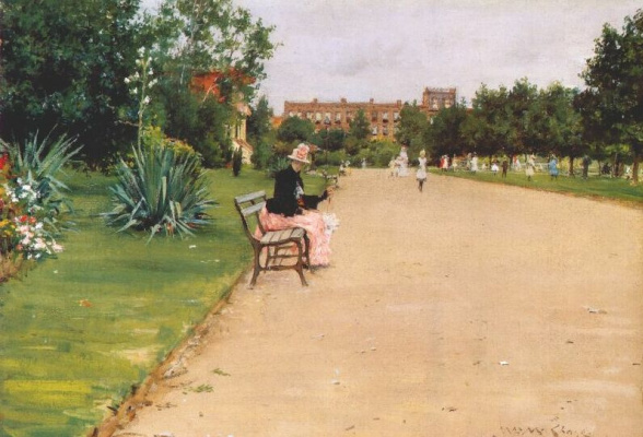 William Merritt Chase. City Park
