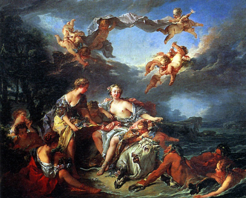 Francois Boucher. The Rape Of Europa