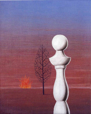René Magritte. Fashionable people