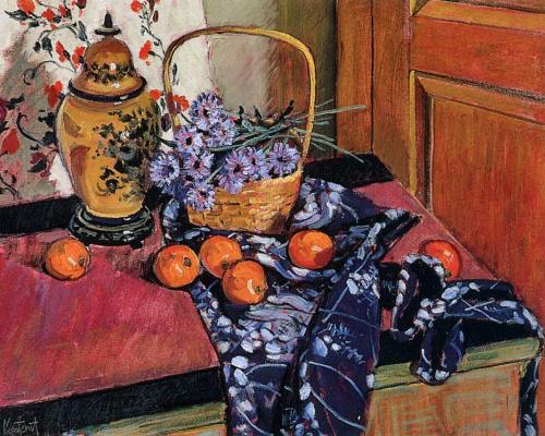 Габриэль Контант. Натюрморт с апельсинами