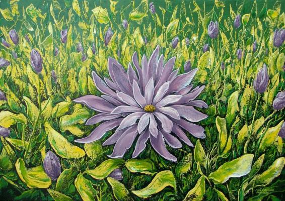 Юрий Владимирович Сизоненко. On the flowery meadow.
