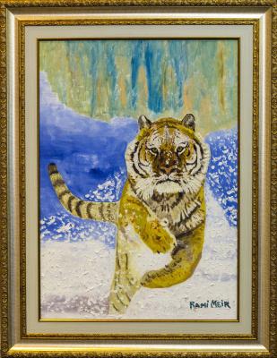 Rami Meir. Self-portrait