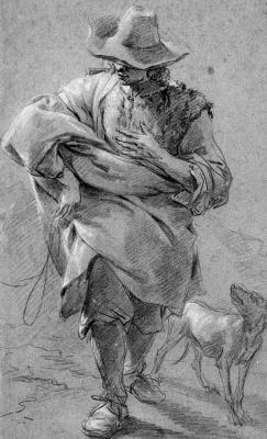 Николас Питерс Берхем. Пастух