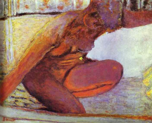 Pierre Bonnard. Naked woman