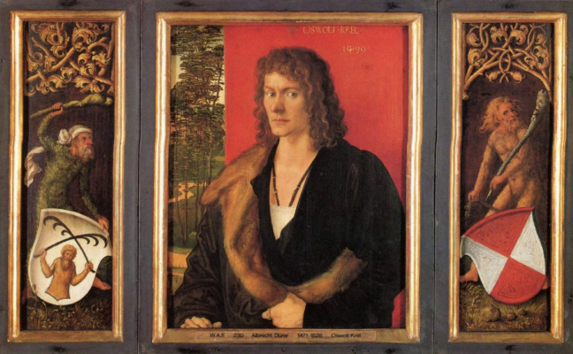 Albrecht Durer. Portrait Of Oswald Krelle
