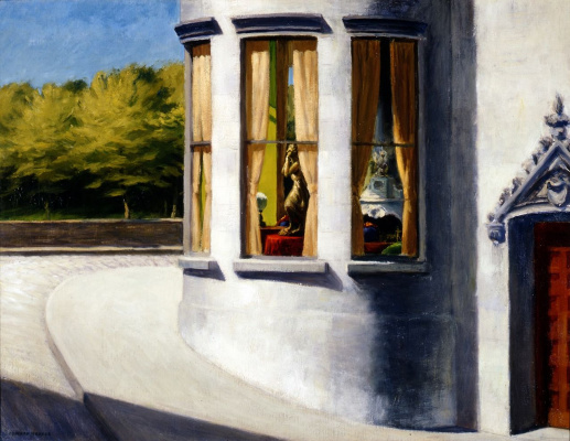 Edward Hopper. August in the city