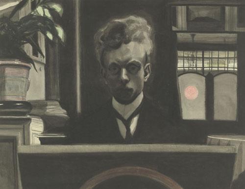 Леон Спиллиарт. Autoportrait