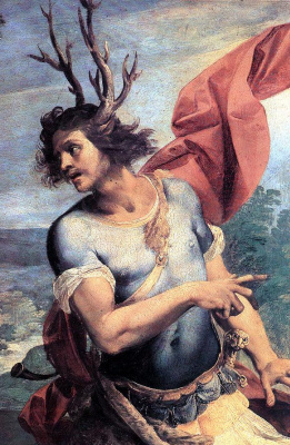 Чезари Джузеппе (Кавалер д'Арпино). Диана и Актеон