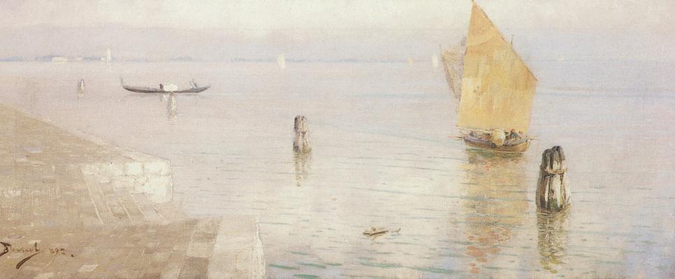 Vasily Dmitrievich Polenov. Laguna. Venice