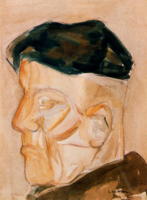 Луис Кастельянос. Мужчина в кепке