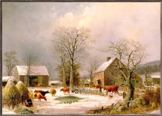 Фармярд Дурри. Зима