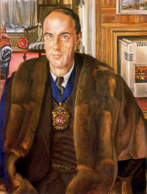 Stanley Spencer. Portrait Of Martino
