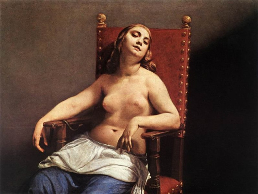 Гвидо Каньяччи. Смерть Клеопатры