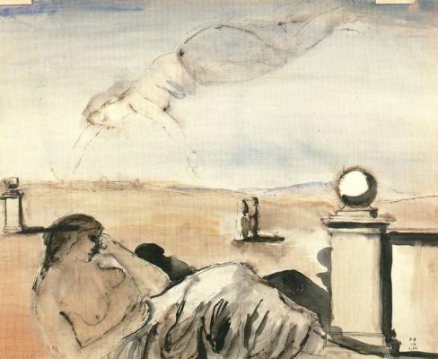 Paul Delvo. Flight of fancy