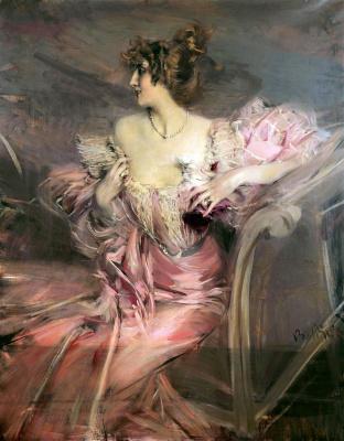 Джованни Больдини. Портрет мадам де Флориан