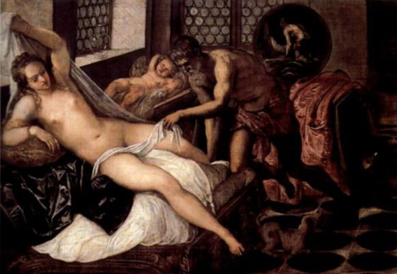 Jacopo Tintoretto. Venus, Vulcan and Mars