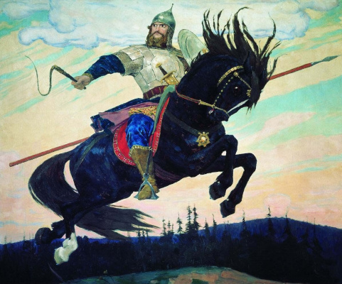 Victor Vasnetsov. Heroic gallop