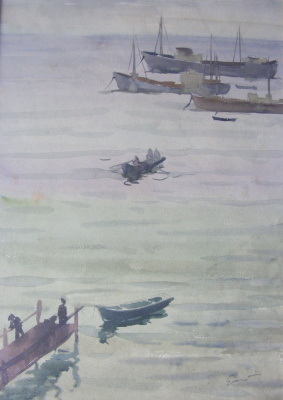Yosif Josifovich Garani. Crimea sea