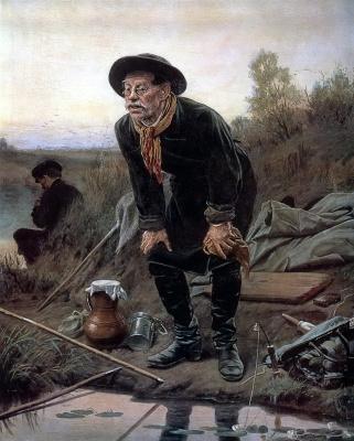 Василий Григорьевич Перов. Рыболов