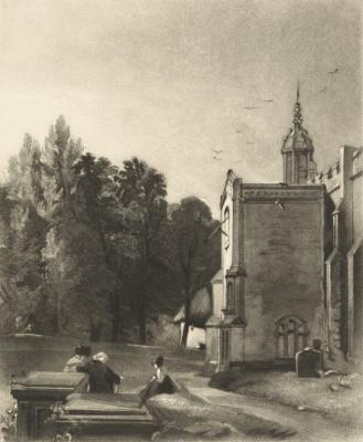 Джон Констебл. Церковь Восточного Бергхольта