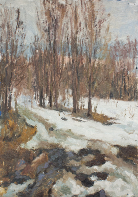 Igor Igorevich Krieger. Ples. The last snow.