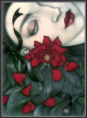 Мелл Одом. Красная роза