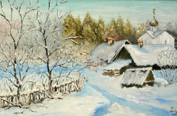 Sergei Nikolayevich Khodorenko-Zatonsky. Village