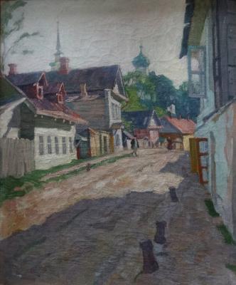 Арнольд Борисович Лаховский. Улица в Пскове