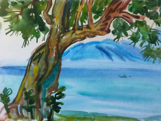 "Natalia Gennadievna Torlopova. A Series Of ""Beach""7"