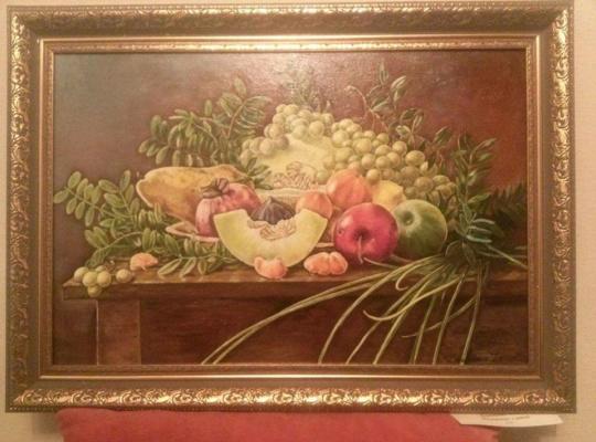 Bogdan Nikolaevich Doroshenko. Still life with melon