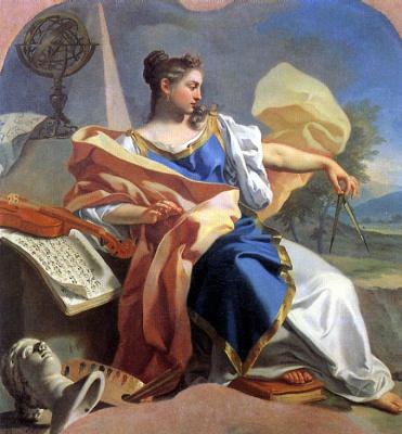 Франческо Де Мура. Аллегория искусств