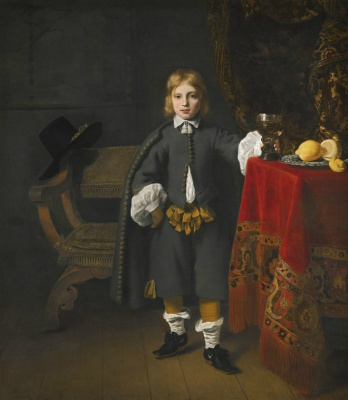 Фердинанд Балтасарс Боль. Портрет мальчика