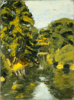 Rothko Mark. Sketch in the shadows