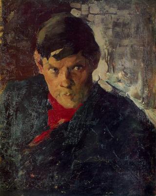 Portrait Of P. F. Bessonova.