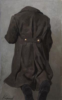 Heliy Mikhailovich Korzhev. Overcoat and boots