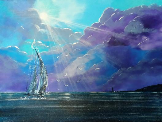 Irina Stukaneva. Sail. Shine.