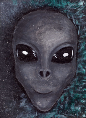 Anya Sherstneva. Alien