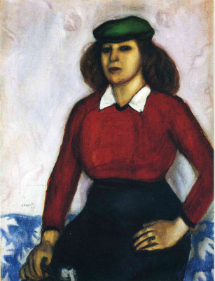 Marc Chagall. Annie. Portrait of sisters