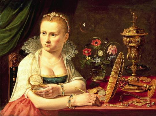 Clara Peeters. Vanity of vanities