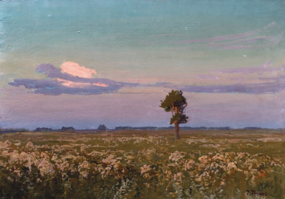 Ivan Ivanovich Trush. Lonely pine