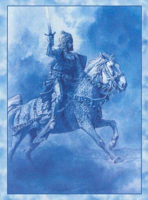Юлек Хеадон Деидр Хеллер. Иллюстрации к книге Рыцари. Артур 01