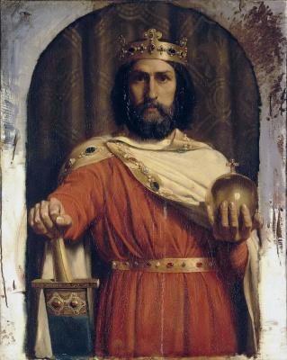 Жан Луи Эрнест Мейссонье. Карл Великий