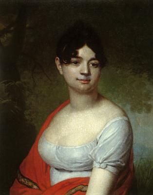 Vladimir Lukich Borovikovsky. Female portrait