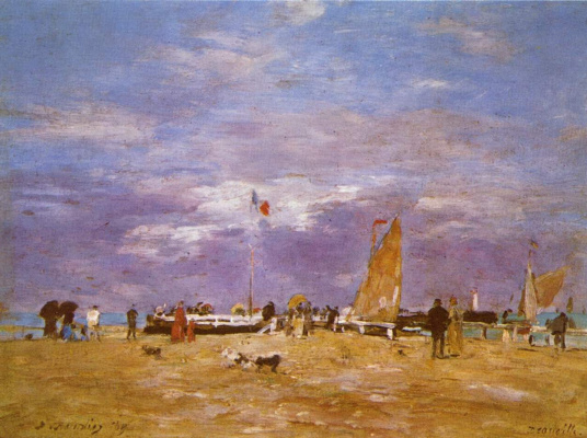 Eugene Boudin. They say in Deauville